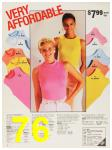 1987 Sears Spring Summer Catalog, Page 76