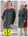 1991 Sears Fall Winter Catalog, Page 89