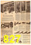 1963 Sears Fall Winter Catalog, Page 827