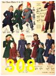 1940 Sears Fall Winter Catalog, Page 308