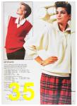 1985 Sears Fall Winter Catalog, Page 35