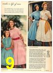 1958 Sears Spring Summer Catalog, Page 9