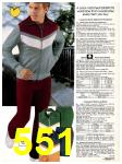 1982 Sears Fall Winter Catalog, Page 551