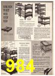 1969 Sears Fall Winter Catalog, Page 984