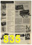 1968 Sears Fall Winter Catalog, Page 835