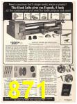 1974 Sears Fall Winter Catalog, Page 871