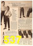 1963 Sears Fall Winter Catalog, Page 537