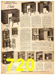 1958 Sears Fall Winter Catalog, Page 720