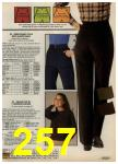 1980 Sears Fall Winter Catalog, Page 257