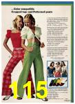 1974 Sears Spring Summer Catalog, Page 115