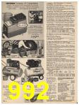 1983 Sears Fall Winter Catalog, Page 992