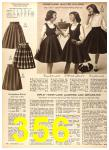 1956 Sears Fall Winter Catalog, Page 356