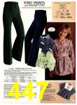 1978 Sears Fall Winter Catalog, Page 447