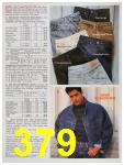 1991 Sears Fall Winter Catalog, Page 379