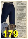 1980 Sears Fall Winter Catalog, Page 179