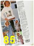 1985 Sears Fall Winter Catalog, Page 85