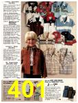 1981 Sears Spring Summer Catalog, Page 401