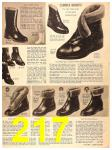 1956 Sears Fall Winter Catalog, Page 217