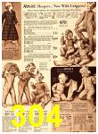 1940 Sears Fall Winter Catalog, Page 304