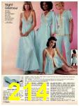 1981 Sears Spring Summer Catalog, Page 214
