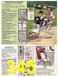 1981 Sears Spring Summer Catalog, Page 345