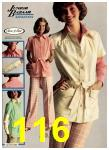 1975 Sears Spring Summer Catalog, Page 116