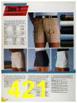 1986 Sears Spring Summer Catalog, Page 421