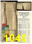 1969 Sears Fall Winter Catalog, Page 1040