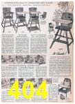 1957 Sears Spring Summer Catalog, Page 404