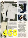 1982 Sears Fall Winter Catalog, Page 458