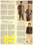 1949 Sears Spring Summer Catalog, Page 85