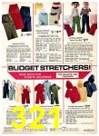 1975 Sears Fall Winter Catalog, Page 321