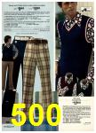 1974 Sears Spring Summer Catalog, Page 500