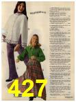 1972 Sears Fall Winter Catalog, Page 427