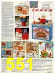 1982 Sears Christmas Book, Page 551