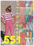 1988 Sears Spring Summer Catalog, Page 551