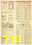 1949 Sears Spring Summer Catalog, Page 710