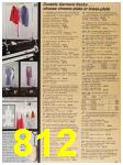 1987 Sears Spring Summer Catalog, Page 812