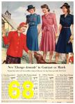 1940 Sears Fall Winter Catalog, Page 68