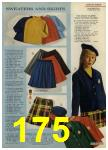 1968 Sears Fall Winter Catalog, Page 175