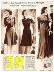 1940 Sears Fall Winter Catalog, Page 39