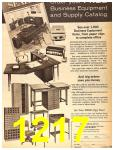 1962 Sears Fall Winter Catalog, Page 1217