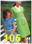 1972 Sears Spring Summer Catalog, Page 105