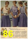 1961 Sears Spring Summer Catalog, Page 86