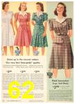 1942 Sears Spring Summer Catalog, Page 62