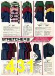 1975 Sears Fall Winter Catalog, Page 431