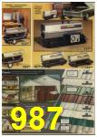 1979 Sears Fall Winter Catalog, Page 987