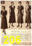 1949 Sears Spring Summer Catalog, Page 206