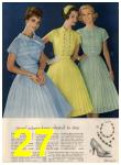 1960 Sears Spring Summer Catalog, Page 27