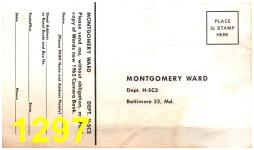 1962 Montgomery Ward Spring Summer Catalog, Page 1297